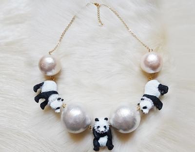 BigPearl × PandaNecklace